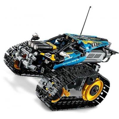 TOP 1. - LEGO Technic 42095 Kaskadérské závodní auto na dálkové ovládání