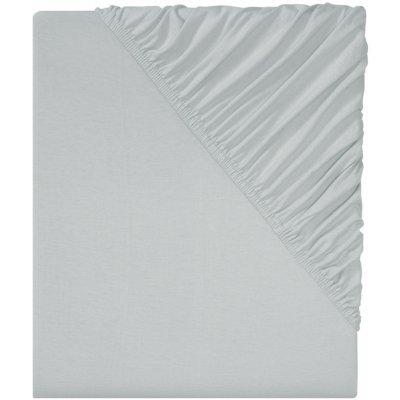 TOP 3. - Livarno Home Žerzejové napínací prostěradlo 90–100x200 šedá
