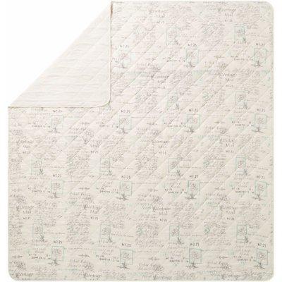 TOP 5. - MERADISO přehoz na postel Oboustranný poštovní razítko 250 x 260 cm