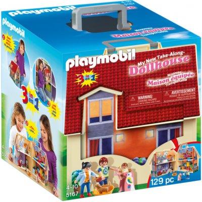 TOP 3. - Playmobil 5167 Přenosný domek pro panenky