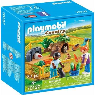 TOP 2. - Playmobil 70137 Malé zvířátka s výběhem