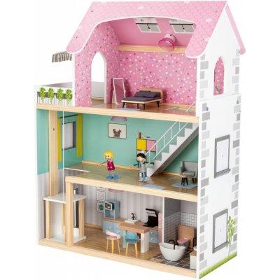 TOP 1. - PLAYTIVE Dřevěný domeček pro panenky XXL 346914