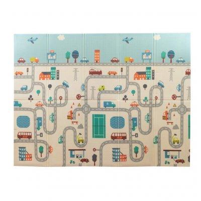 TOP 5. - PlayTo Multifunkční skládací hrací podložka Město