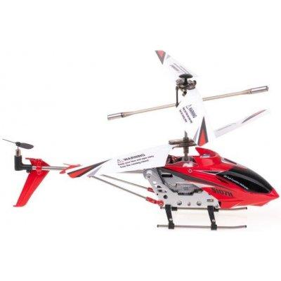 TOP 1. - RCobchod Syma S107H Phantom ultra odolný vrtulník s barometrem červená RTF 1:10