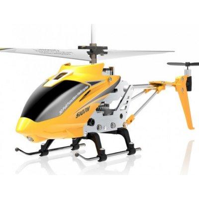 TOP 4. - RCobchod Syma S107H Phantom ultra odolný vrtulník s barometrem žlutá RTF 1:10