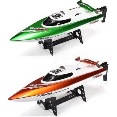 TOP 1. - RCobchod Závodní sportovní člun FT-09 2,4Ghz RTR 1:10