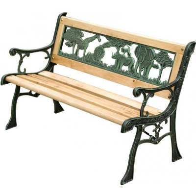 TOP 5. - ST Leisure Equipment Lavicka zahradní Jumanji kov dřevo ST802356