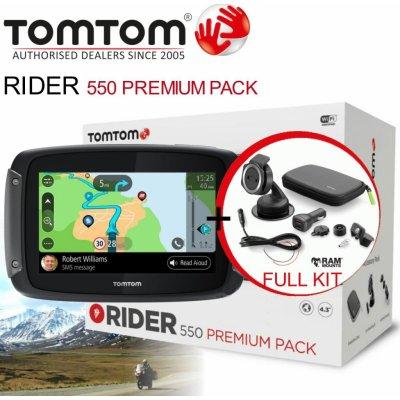TOP 5. - TomTom Rider 550 Premium Pack