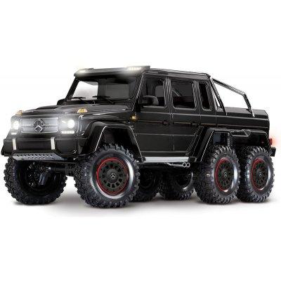 TOP 2. - Traxxas TRX-6 Mercedes G 63 6x6 TQi RTR ČERNÁ 1:10