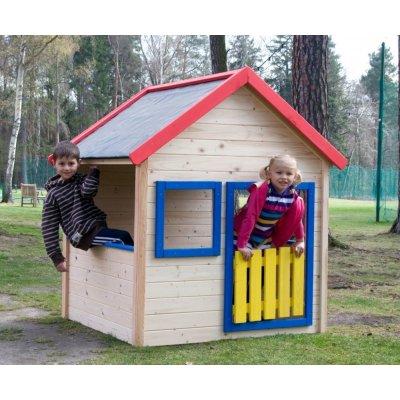 TOP 3. - Woody Zahradní domeček s barevným lemováním