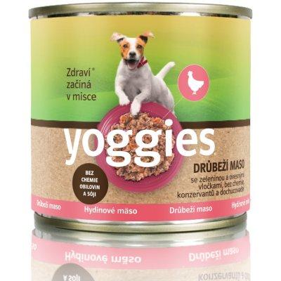 TOP 3. - Yoggies drůbeží s ovesnými vločkami 200g