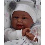 TOP 4. - Antonio Juan Realistické miminko holčička Clara na polštářku s kapkami</p>