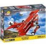TOP 5. - Cobi 2974 Great War Fokker Dr. 1 RED BARON