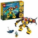TOP 5. - LEGO Creator 31090 Podvodný robot