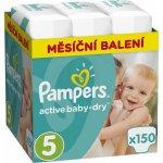 TOP 5. - Pampers Active Baby 5 Junior 11-18 kg 150 ks