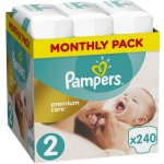 TOP 3. - Pampers Premium Care 2 Mini 3-6 kg 240 Ks