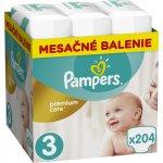 TOP 4. - Pampers Premium Care 3 MIDI 5-9 kg 204 ks