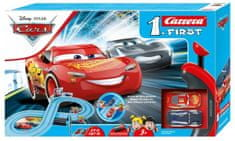 CARRERA Autodráha FIRST 63038 Cars Power Duell