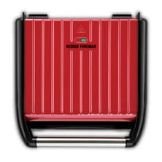 George Foreman 25050-56 Steel Entertaining Grill Red