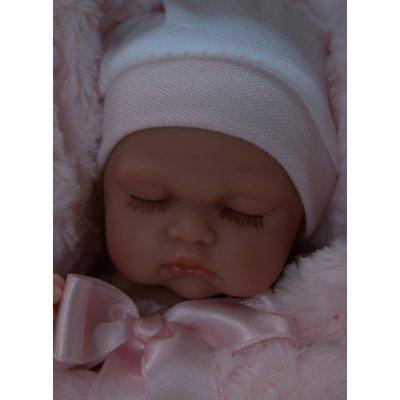TOP 2. - Antonio Juan Realistické bábätko holčička Luni v zavinovačce
