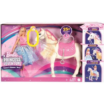 TOP 5. - Barbie Princess Adventure Princezna a kůň se světly a zvuky