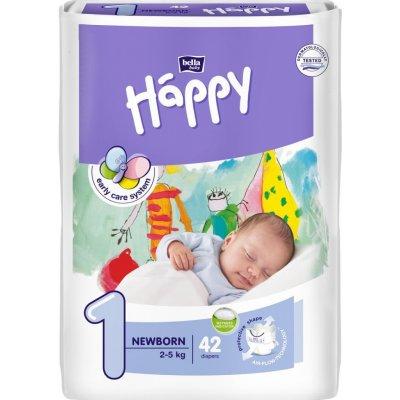 TOP 2. - Bella Happy 1 Newborn 2-5 kg 42 ks