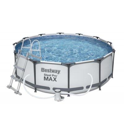 TOP 1. - Bestway Steel Pro Max 366 x 100 cm 56418