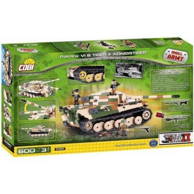 TOP 2. - Cobi 2480 Small Army II WW PzKpfw VI Tiger II 600 ks