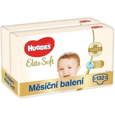TOP 2. - Huggies Elite Soft 4 2x66 ks 132ks