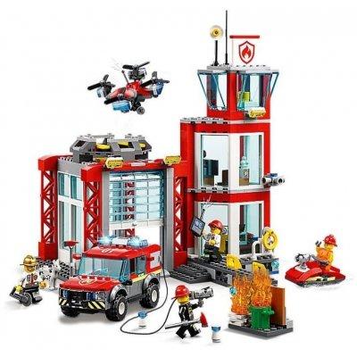 TOP 3. - Lego City 60215 Hasičská stanica
