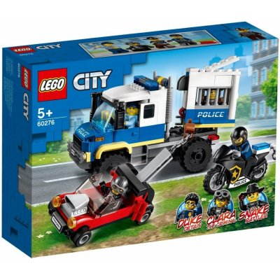 TOP 4. - Lego City 60276 Transportér pre väzňov