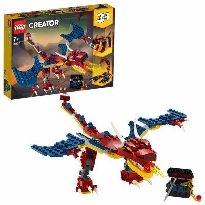 TOP 5. - Lego Creator 31102 Ohnivý drak