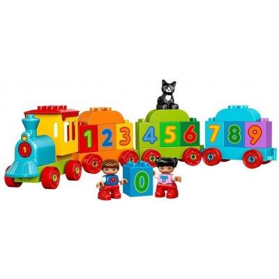 TOP 4. - Lego Duplo 10847 Vláčik s číslami