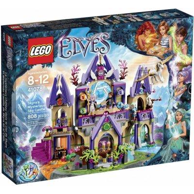 TOP 4. - Lego Elves 41078 Skyra a tajomný hrad pod nebom