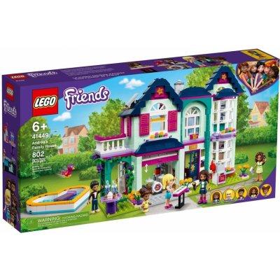 TOP 5. - Lego Friends 41449 Andrea a její rodinný dům