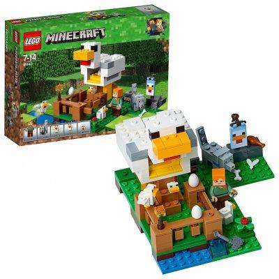 TOP 4. - Lego Minecraft 21140 Kurín