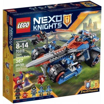 TOP 4. - Lego Nexo Knights 70315 Clayova burácející čepel