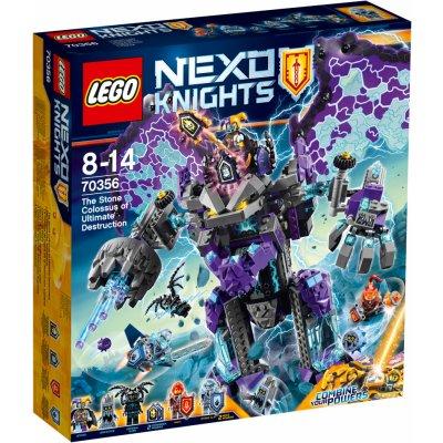 TOP 3. - Lego Nexo Knights 70356 Úžasne ničivý Kamenný kolos