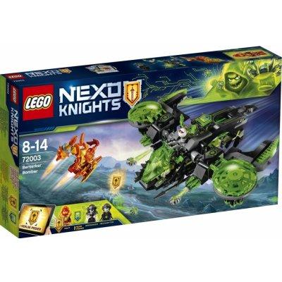 TOP 2. - Lego Nexo Knights 72003 Šialený bombardér