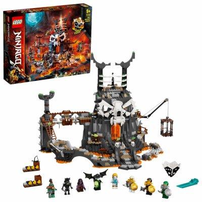 TOP 2. - Lego Ninjago 71722 Jaskyňa Čarodejníka lebiek
