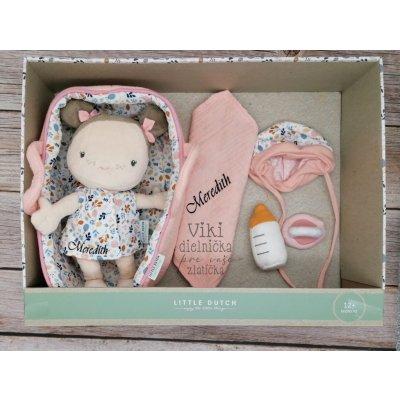 TOP 4. - Little Dutch Bábika Baby Rosa
