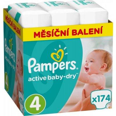 TOP 3. - Pampers Active Baby 4 MAXI 8-14 kg 174 ks