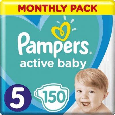 TOP 2. - Pampers Active Baby 5 Junior 11-16 kg 150 ks