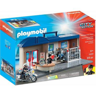 TOP 3. - Playmobil 5689 Prenosná policajná stanica