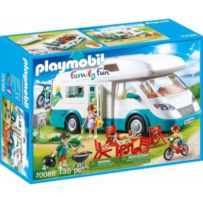 TOP 1. - Playmobil 70088 Rodinný karavan