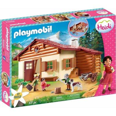 TOP 5. - Playmobil 70253 Heidi a starý otec na salaši