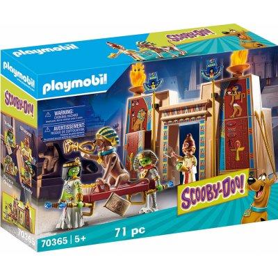 TOP 2. - Playmobil 70365 SCOOBY-DOO! Dobrodružství v Egyptě