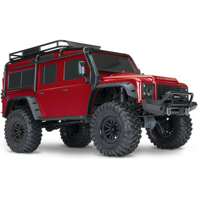 TOP 5. - Traxxas TRX-4 Land Rover Defender TQi RTR červená 1:10