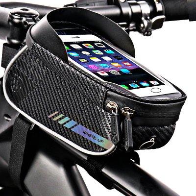 TOP 1. - Wheel Up 026 držiak na mobil, brašna na bicykel Farba: Čierna