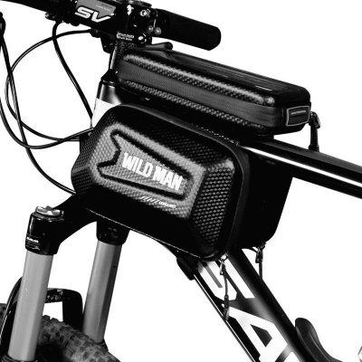 TOP 3. - Wild Man E6S brašňa na mobil na bicykel s kapsičkami Farba: Čierna